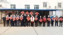 校领导在春节前夕慰问我校师生员工